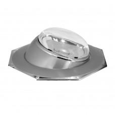 Свiтильник точковий 305 R-50 сірий-хром / D/L E14 GY-CM 417 ФЕРОН 17545