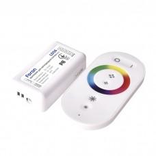 LD56 контроллер для RGB DC12V max 216W (6A*3) 85*45*23mm білий 6476 ФЕРОН 21558