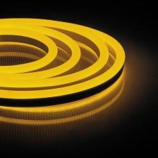 LS720 120SMD(2835)/m 230V 9,6W/m 16*8mm жовтий IP65, min 50m світлодіодна стрічка6045 ФЕРОН 29565