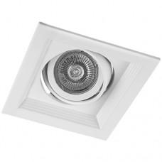 Свiтильник точковий DLT201 MR16/G5.3 білий поворотний 6006 ФЕРОН 29770