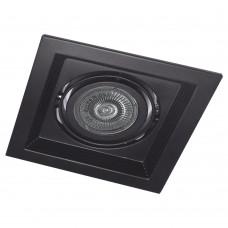 Свiтильник точковий DLT201 MR16/G5.3 чорний поворотний 6202 ФЕРОН 32404
