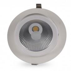 Свiтильник свiтлодiодний AL250 COB 18W білий 1530Lm 4000K IP20 45град 165*125 (150) mm 6334 ФЕРОН 32605