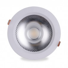 Свiтильник свiтлодiодний AL251 COB 18W білий 1530Lm 4000K IP20 60град 160*65 (140) mm 6335 ФЕРОН 32616