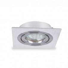 Свiтильник точковий DL6120 MR16 білий, квадрат поворотний G5.3 6344 ФЕРОН 32672