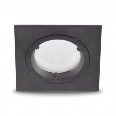 Свiтильник точковий DL6300 MR16/GU5.3 алюміній, чорний 6382 ФЕРОН 32719