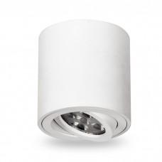 Свiтильник свiтлодiодний ML302 MR16/GU10 білий, круг, поворотный, 80*90мм 6536 ФЕРОН 32867
