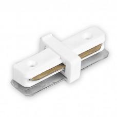 LD1100 коннектор прямой для шинопровода однофазного , білий 6585 ФЕРОН 40004