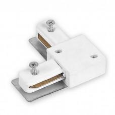 LD1101 коннектор кутовий для шинопровода однофазного, білий 6587 ФЕРОН 40006