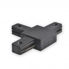 LD1103 коннектор Т-образный для шинопровода однофазного, чорний 6590 ФЕРОН 40009