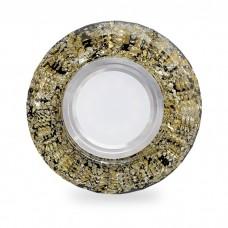 Свiтильник точковий CD830 MR16 золото-чорний з led підсвіткою SMD2835 15leds (4000K) 6741 ФЕРОН 40023