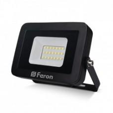 Прожектор LL-852  20W  6400K 230V  (131*117*26mm)  чорний  IP 65 ФЕРОН 5511