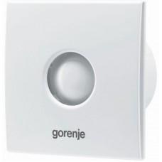Витяжний вентилятор BVX150WS Gorenje (зі зворотним клапаном, без шнурка) білий