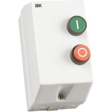 Контактор КМИ10960 9А в оболонці з індик. Ue=400В/АС3 IP54 ІЕК KKM16-009-I-380-00