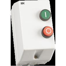 Контактор КМИ11260 12А в оболонці з індик. Ue=400В/АС3 IP54 ІЕК KKM16-012-I-380-00