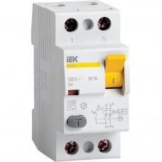 ПЗВ (пристрій захисн. відкл.) ВД1-63 2Р  25А 100мА ІЕК MDV10-2-025-100