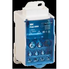 Розподільчий блок на DIN-рейку РБД-500А ІЕК RBD-500