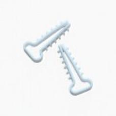 Дюбель-ялинка (зажим) для плоского кабеля D до 12 мм