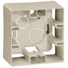 Коробка накладного монтажу 1-постова Слонова кістка ETIKA Legrand 672520
