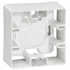 Коробка накладного монтажу 1-постова Білий ETIKA Legrand 672510