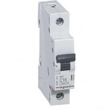 4,5кА 16А 1п C RX3 автоматичний вимикач Legrand 419664