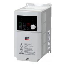 LSLV0004M100-1EOFNS перетворювач частоти 0.4кВт,1ф,200-240В LS IS