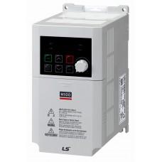 LSLV0008M100-1EOFNS перетворювач частоти 0.75кВт,1ф,200-240В LS IS