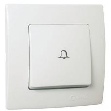 Кнопка дзвінка  білий Lillium Natural Kare MAKEL 32001050
