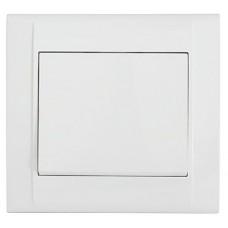 Вимикач 1-клавішний  білий Defne MAKEL 42001001