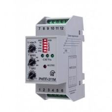 РНПП-311М реле напруги, послідовності, перекосу та обриву фаз, регулювання часу АПВ та спрацювання, вкл/вкл захистів