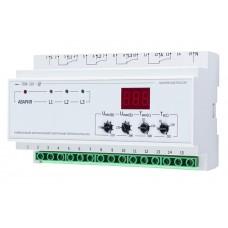 Перемикач фаз НОВАТЕК-ЕЛЕКТРО ПЭФ-319 32А пряме включення, або ч / з пускачі, індикація.