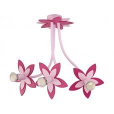 FLOWERS  PINK III zwis дитячий світильник Nowodvorski 6894