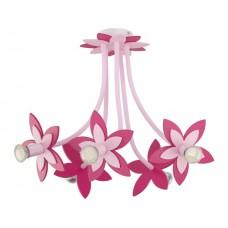 FLOWERS PINK V plafon дитячий світильник Nowodvorski 6896