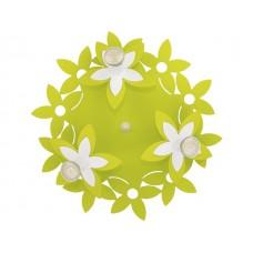 FLOWERS  GREEN III plafon okrągły дитячий світильник Nowodvorski 6900