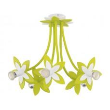 FLOWERS GREEN V plafon дитячий світильник Nowodvorski 6901