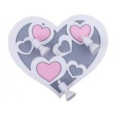 HEART III B дитячий світильник Nowodvorski 9064