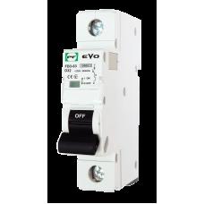 Модульний автоматичний вимикач АВ2000 EVO 10кА