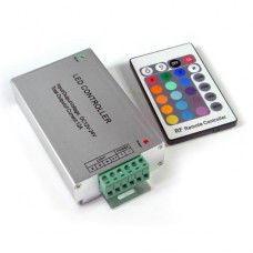 RGB-контролер 12А (інфрачервоний-24кнопок) №20 01500024