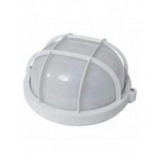 SL-1251 100W світильник круглий білий з решіткою Екострум