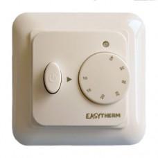 Електромеханічний терморегулятор, 16А, 3500Вт, IP21, 0 ... + 40⁰ С, 3 роки гарантії. Колір білий. eASYTHERM EASY MECH