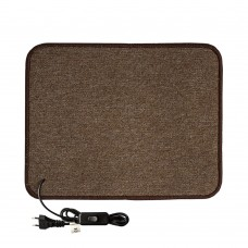 Електричний килимок з підігрівом 50x60 см з термоізоляцією з вимикачем Бежевий 5060TS-BE
