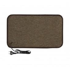 Електричний килимок з підігрівом 50x100 см з термо та гідроізоляцією з вимикачем Бежевий 50100THS-BE