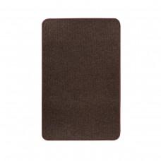 Електричний килимок з підігрівом 50x80 см двосторонній з регулятором Темно-коричневий 5080DD-DBR