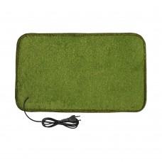Електричний килимок з підігрівом 50x30 см двосторонній Світло-зелений 5030DN-LGN