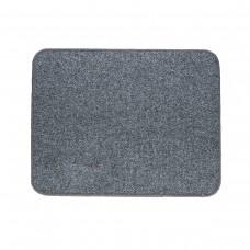 Електричний килимок з підігрівом 50x60 см двосторонній з регулятором Темно-сірий 5060DD-DGR
