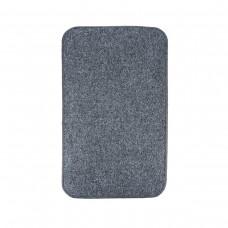 Електричний килимок з підігрівом 50x30 см з термо та гідроізоляцією з регулятором Темно-сірий 5030THD-DGR