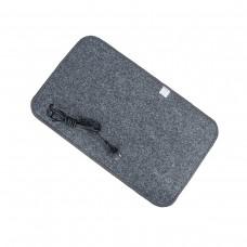 Електричний килимок з підігрівом 50x30 см з термоізоляцією Темно-сірий 5030TN-DGR