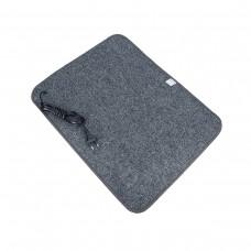 Електричний килимок з підігрівом 50x60 см з термоізоляцією Темно-сірий 5060TN-DGR