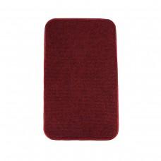 Електричний килимок з підігрівом 50x30 см двосторонній з вимикачем Темно-червоний 5030DS-DR