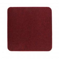 Електричний килимок з підігрівом 50x50 см з термоізоляцією з вимикачем Темно-червоний 5050TS-DR