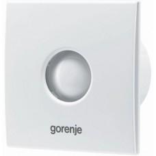 Витяжний вентилятор BVX100WS Gorenje (зі зворотним клапаном, без шнурка) білий